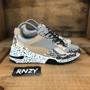 NEW Steve Madden Bena Animal Print Sneaker